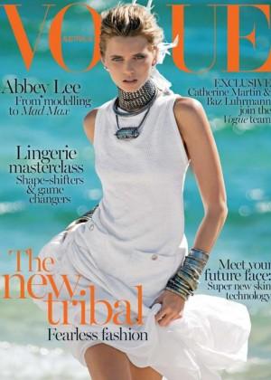 Abbey Lee: Vogue Australia Cover -01