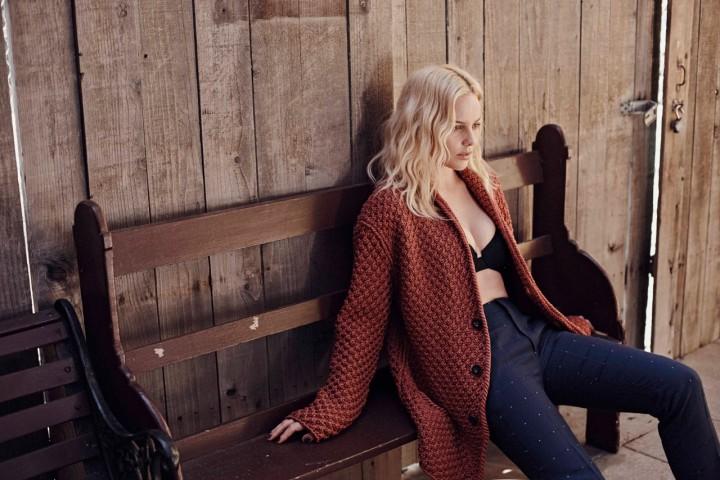 Abbie Cornish – L'Uomo Vogue Magazine (March 2014)