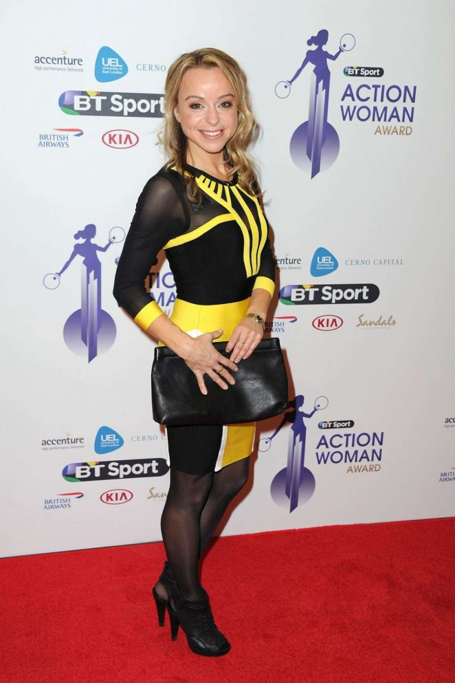 Abi Griffiths - BBC Sports Personality of the Year Awards 2014 in Glasgow