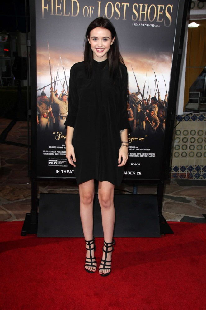 "Acacia Brinley - ""Field of Lost Shoes"" Premiere in Westwood"