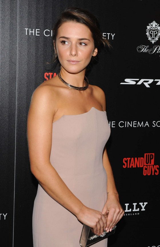 Addison Timlin - Stand Up Guys Premiere Hosted by Cinema Society