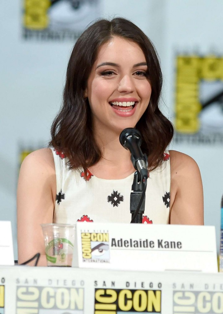 Adelaide Kane - CW Reign Panel at Comic-Con in San Diego