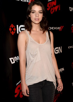Adelaide Kane - IGN & Sin City A Dame to Kill For Party at Comic-Con