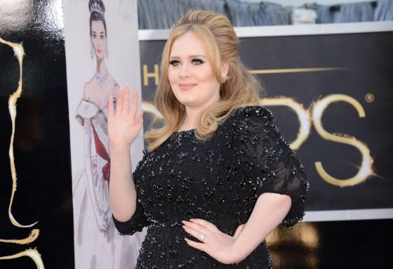 Adele – Oscars 2013 -02