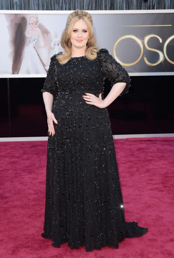 Adele - Oscars 2013 -03