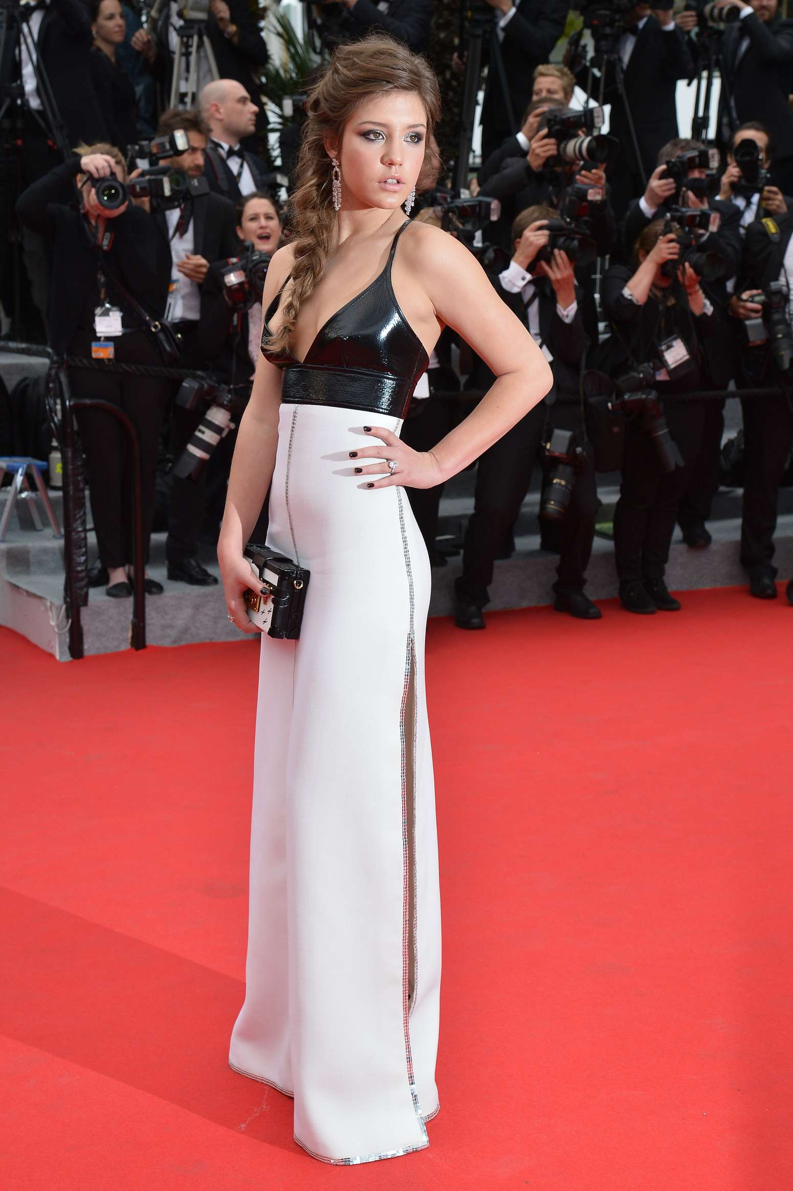 Adele Exarchopoulos Cannes 2014 02 Gotceleb