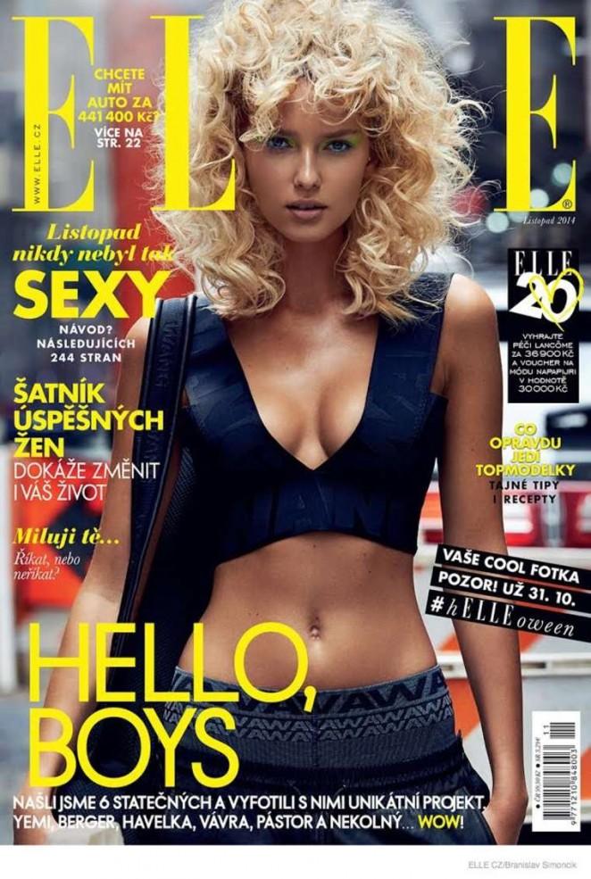 Adriana Cernanova - Elle Czech Magazine (November 2014)