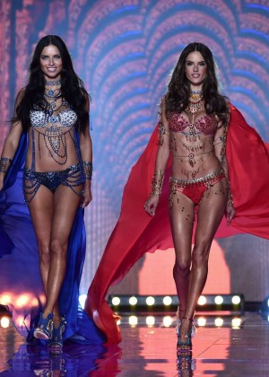 Adriana Lima: 2014 VS Fashion Show Runway -01