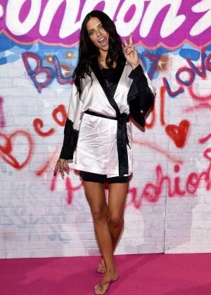 Adriana Lima - Victoria's Secret Show Backstage 2014 in London