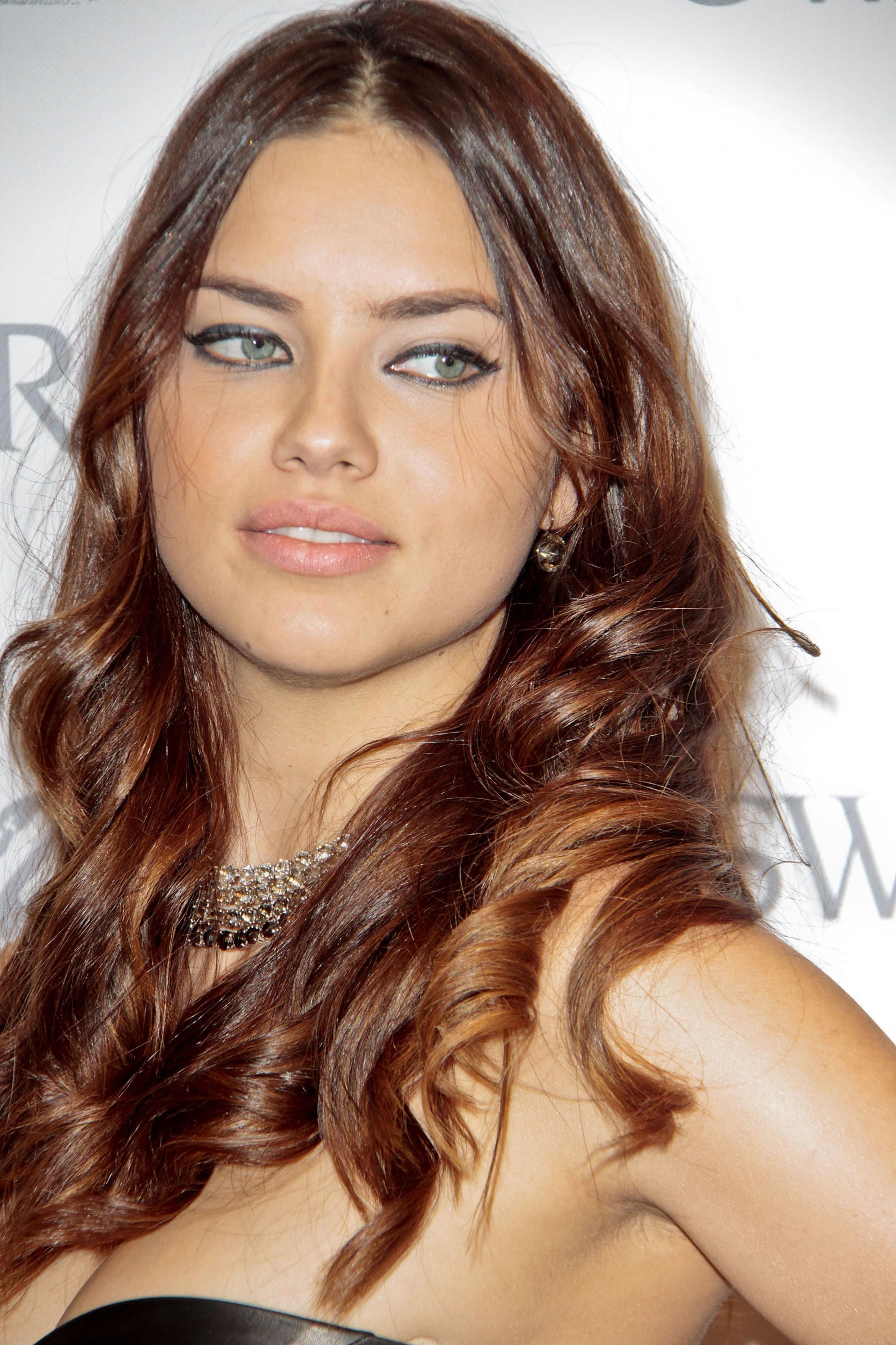 Adriana Lima At Swarovski Crystal Store Opening In Madrid