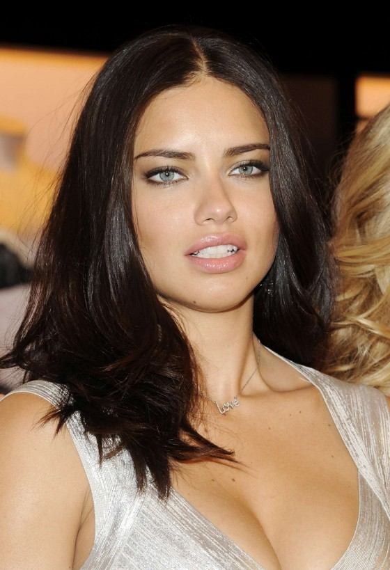 Adriana Lima at Victoria's Secret Valentine's Day