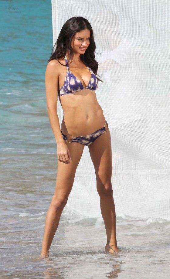 Adriana Lima in a Bikini during a Photoshoot in St Barths-16