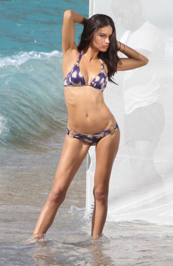 Adriana Lima in a Bikini during a Photoshoot in St Barths-22
