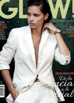 Adriana Lima - Glow Mexico Magazine Cover (October 2014)