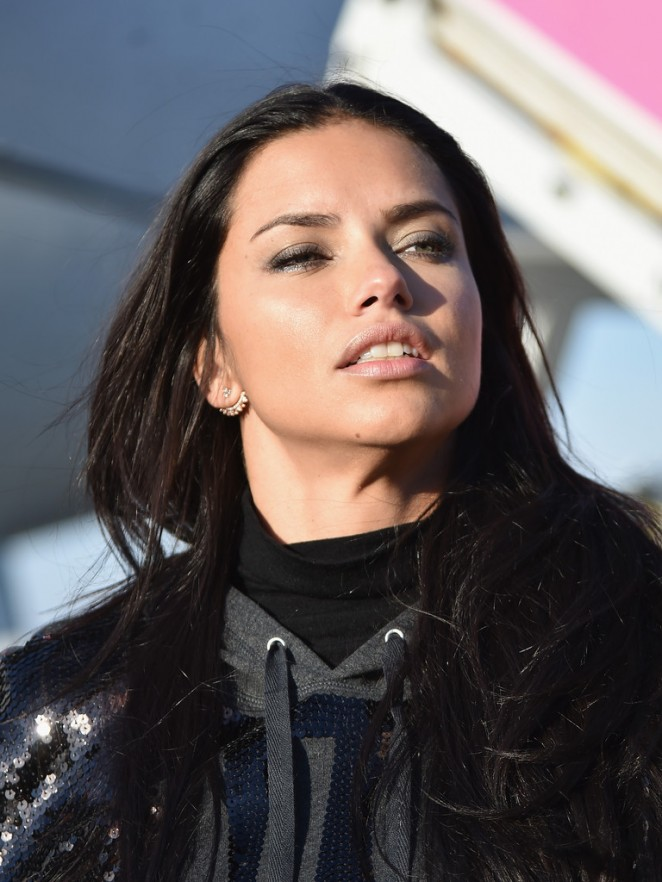 2c8cfd62417ed Adriana Lima - Departing For the London For 2014 Victoria's Secret Fashion  Show