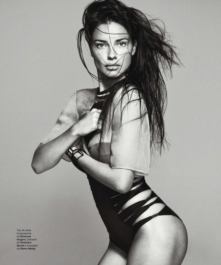 Adriana Lima: Harpers Bazaar Espana -01