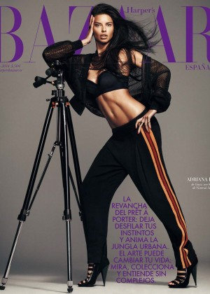 Adriana Lima: Harpers Bazaar Espana -04