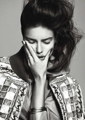 Adriana Lima: Harpers Bazaar Espana -05
