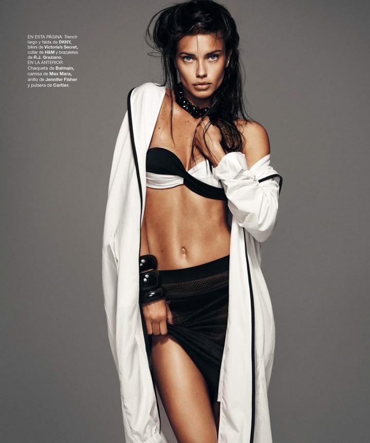 Adriana Lima: Harpers Bazaar Espana -06