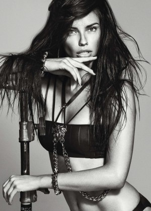 Adriana Lima: Harpers Bazaar Espana -07