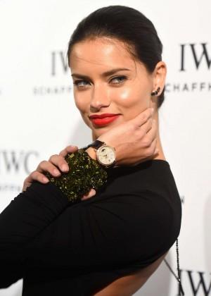Adriana Lima - IWC Schaffhausen 'Timeless Portofino' Gala in Miami