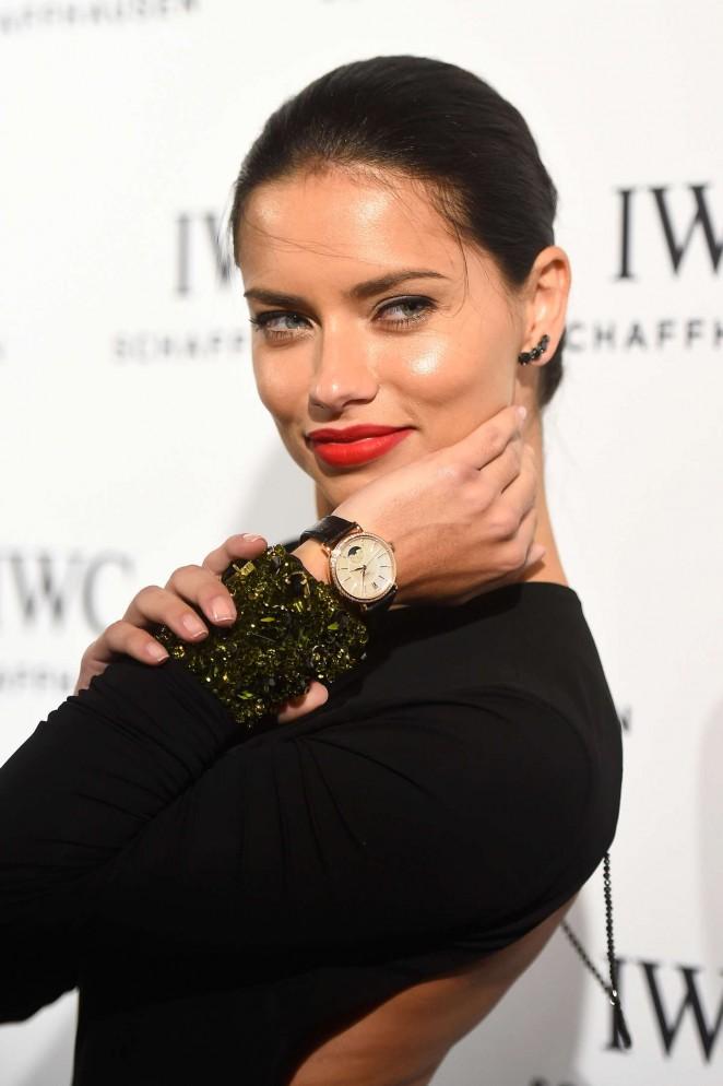 Adriana Lima – IWC Schaffhausen 'Timeless Portofino' Gala in Miami