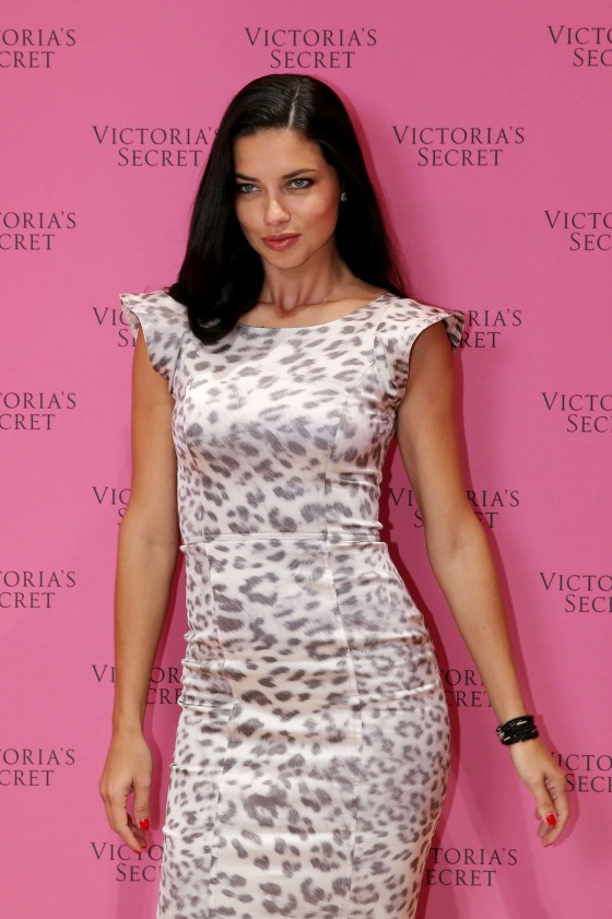 Adriana Lima – Victoria's Secret Fantasy Bra launch in Dubai