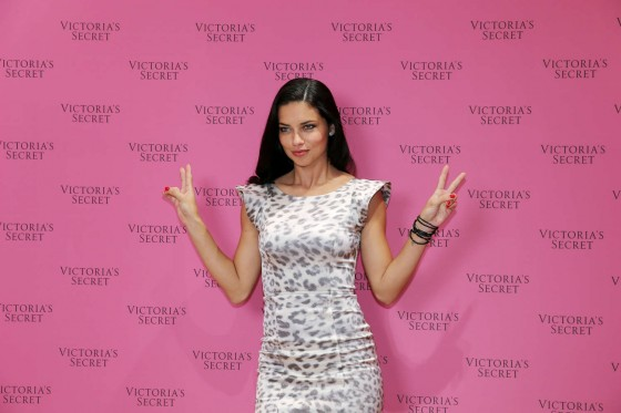 Adriana Lima: VS Fantasy Bra launch -10