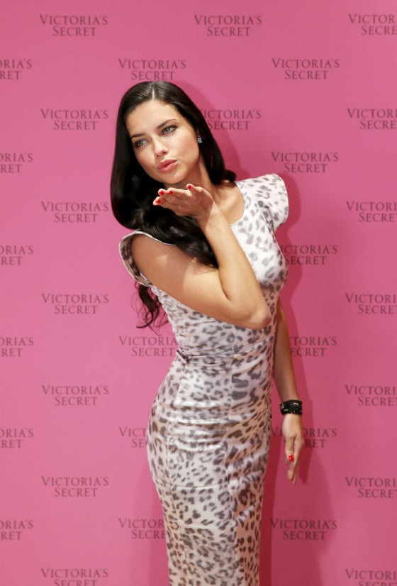 Adriana Lima: VS Fantasy Bra launch -12