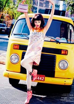 Adriana Lima - Vogue Brazil Magazine (September 2014)