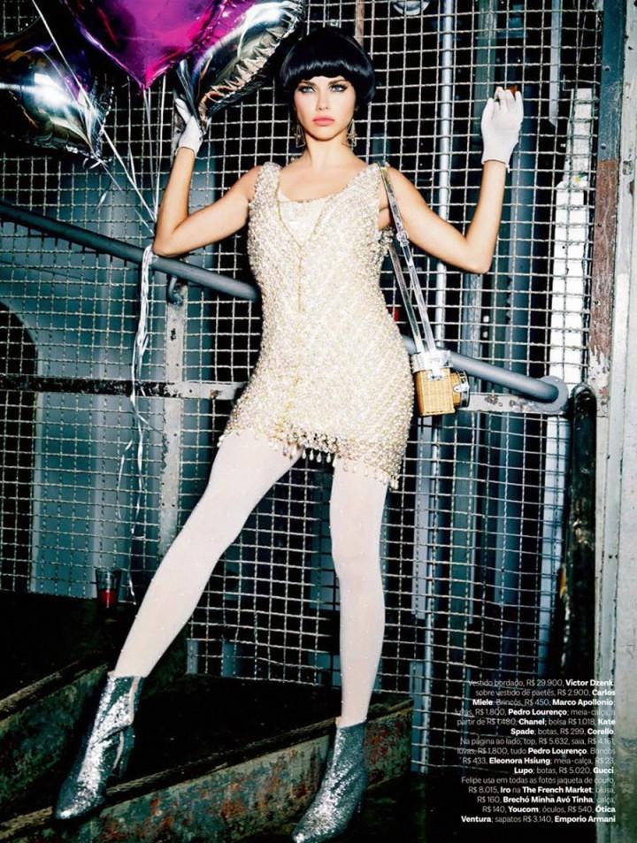 Adriana Lima: Vogue Brazil 2014 -07