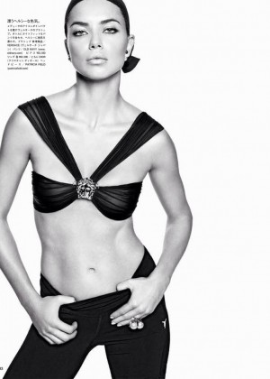 Adriana Lima: Vogue Japan 2014 -02