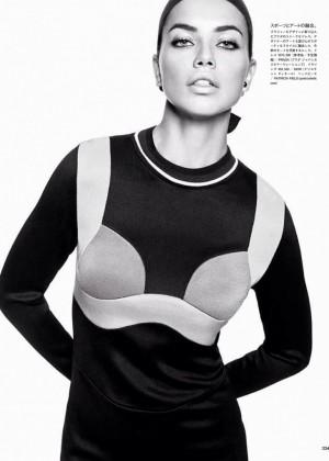 Adriana Lima: Vogue Japan 2014 -04