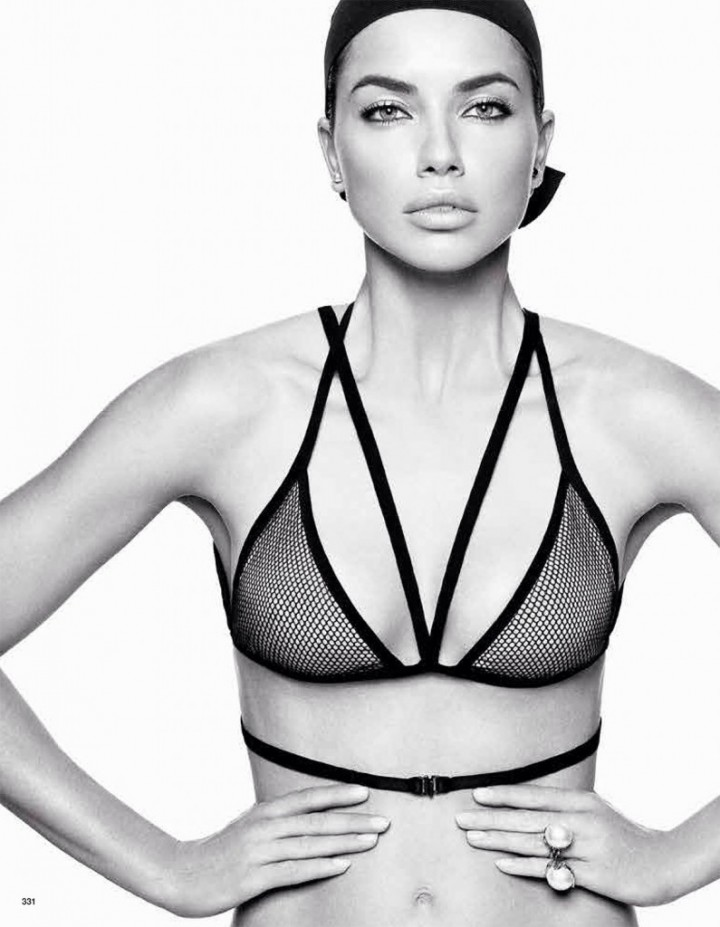 Adriana Lima: Vogue Japan 2014 -06
