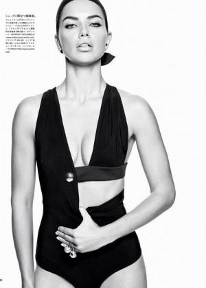 Adriana Lima: Vogue Japan 2014 -07