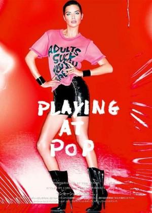 Adriana Lima: Vogue Japan -01