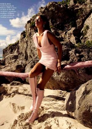 Adriana Lima: Vogue Spain 2014 -02