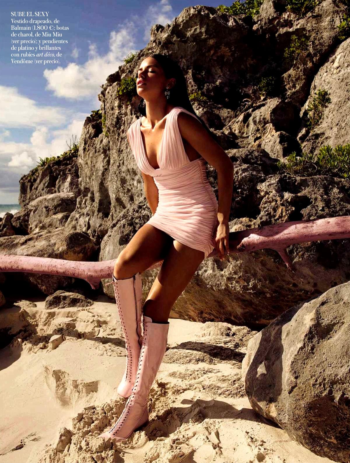Adriana Lima 2014 : Adriana Lima: Vogue Spain 2014 -02