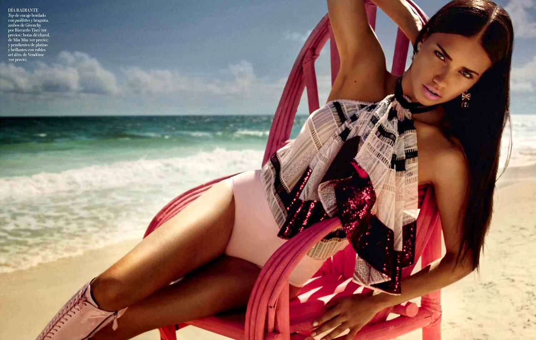 Adriana Lima 2014 : Adriana Lima: Vogue Spain 2014 -04