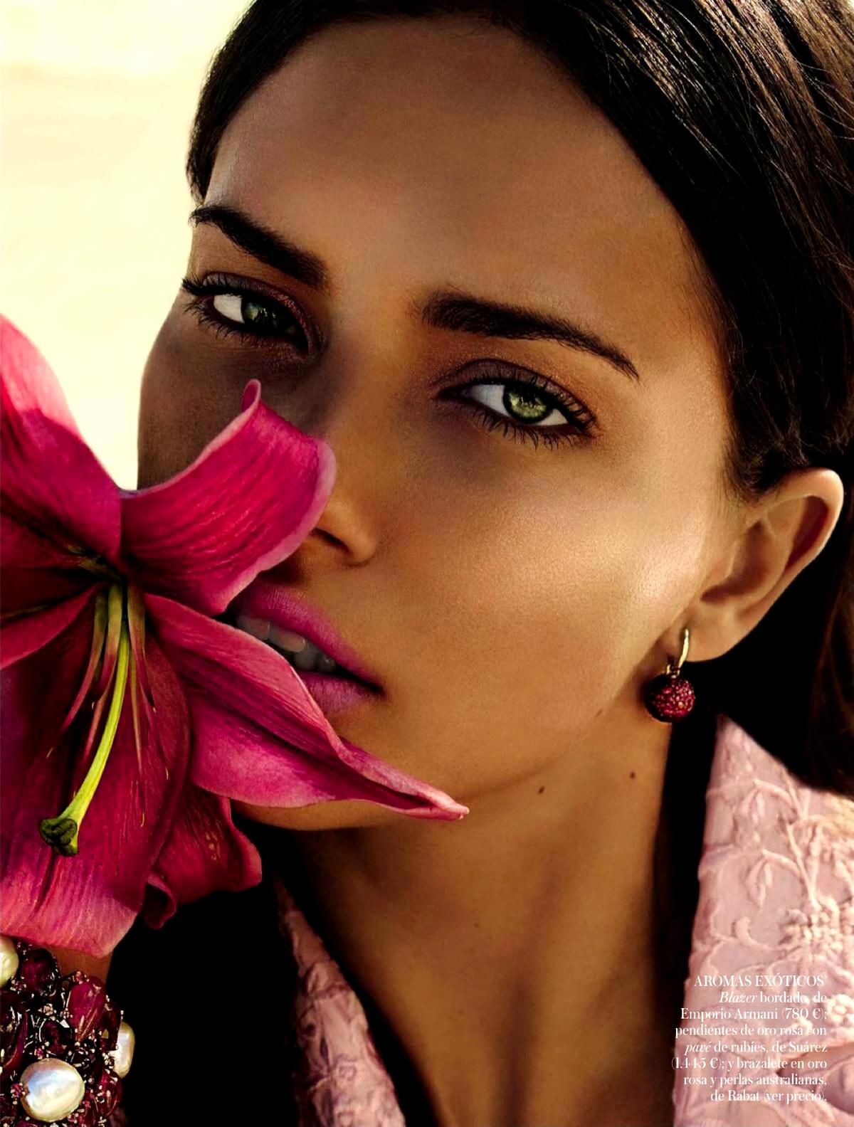Adriana Lima 2014 : Adriana Lima: Vogue Spain 2014 -05
