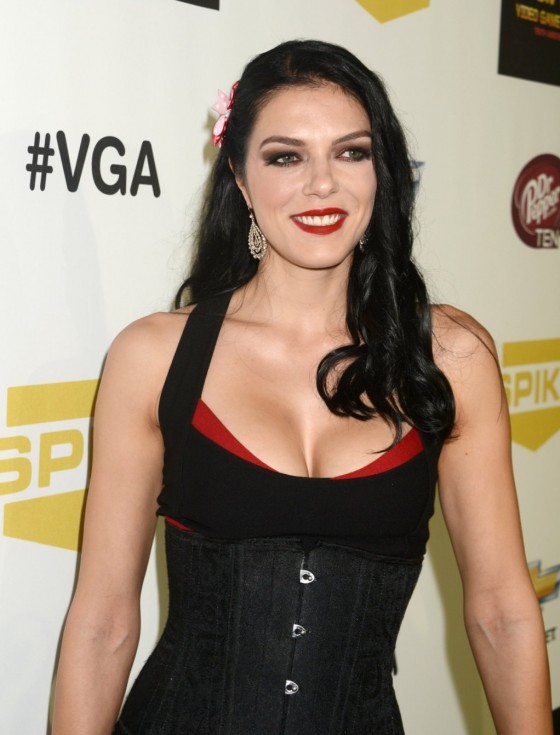 Adrianne Curry - 2012 Spike TV's 10th Annual Video Game Awards in Culver City