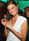 Adrianne Palicki AT Toy Fair 2012-03