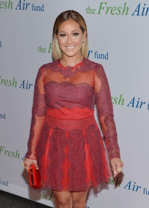 Adrienne Bailon in Short Dress -02
