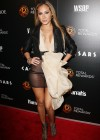 Adrienne Bailon hot in see through dress at Escape To Total Rewards-03