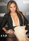 Adrienne Bailon hot in see through dress at Escape To Total Rewards-05