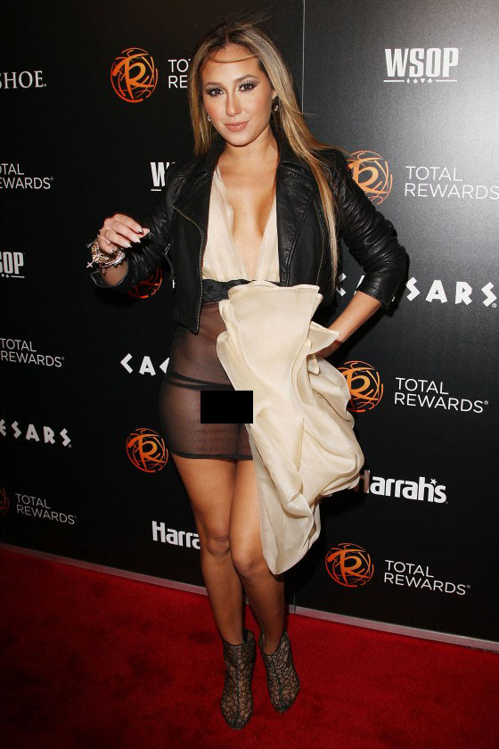 - Adrienne Bailon hot in see through dress at Escape To Total Rewards-12-560x840