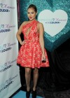 Adrienne Bailon In Hot Dress at HPNOTIQ Liqueurs Valentines Day Cocktail Recipe Launch-01