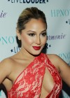 Adrienne Bailon In Hot Dress at HPNOTIQ Liqueurs Valentines Day Cocktail Recipe Launch-02