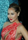 Adrienne Bailon In Hot Dress at HPNOTIQ Liqueurs Valentines Day Cocktail Recipe Launch-05