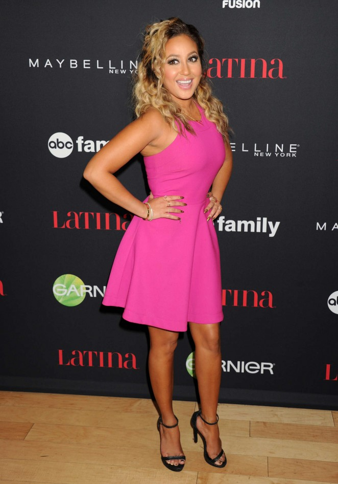Adrienne Bailon - Latina Magazine's '30 Under 30' Party in West Hollywood